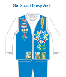 what daisies do girl scouts of kansas heartland