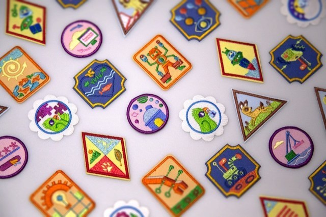 30 new badges -Girl Scouts of the USA