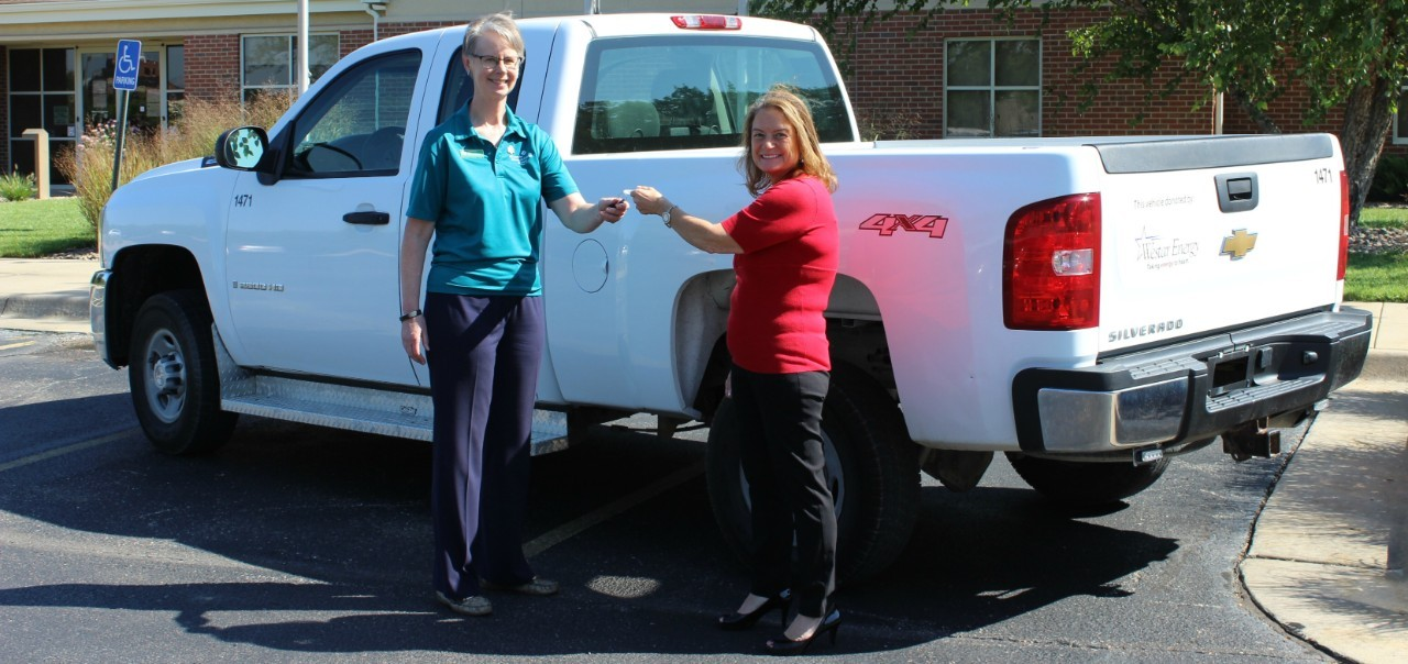 Westar Energy donates truck to Girl Scouts