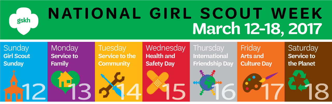 National Girl Scout Week 2017