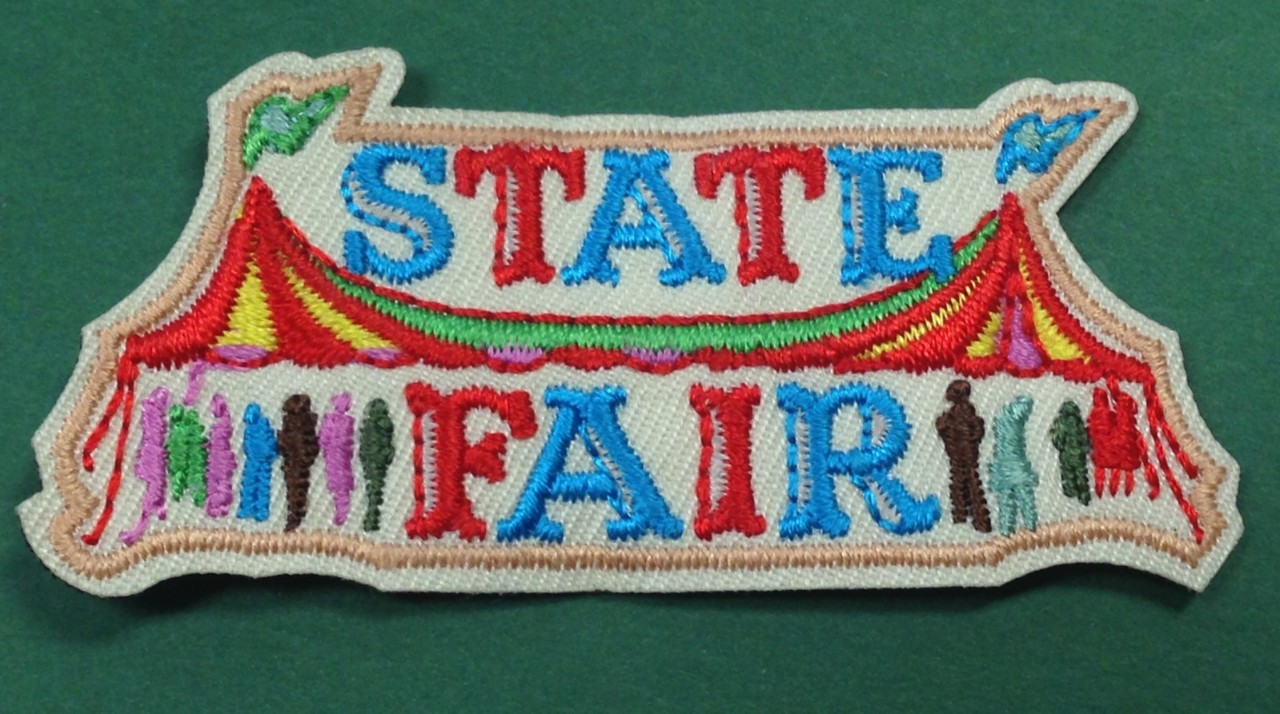 Girl Scout state fair patch